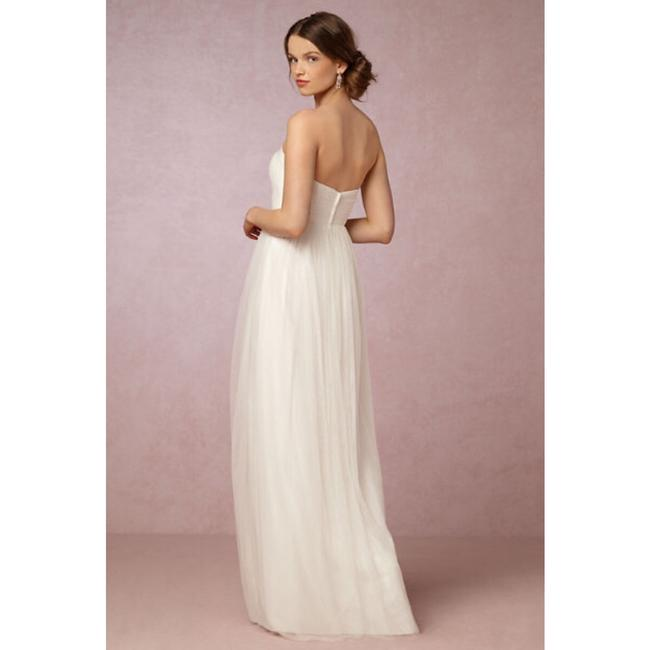 Jenny Yoo Ivory Anabelle Convertible Tulle Gown Long Formal Dress Size 8 (M) Jenny Yoo Ivory Anabelle Convertible Tulle Gown Long Formal Dress Size 8 (M) Image 2