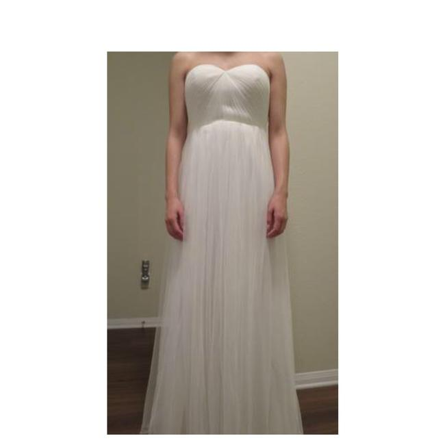 Jenny Yoo Ivory Anabelle Convertible Tulle Gown Long Formal Dress Size 8 (M) Jenny Yoo Ivory Anabelle Convertible Tulle Gown Long Formal Dress Size 8 (M) Image 3