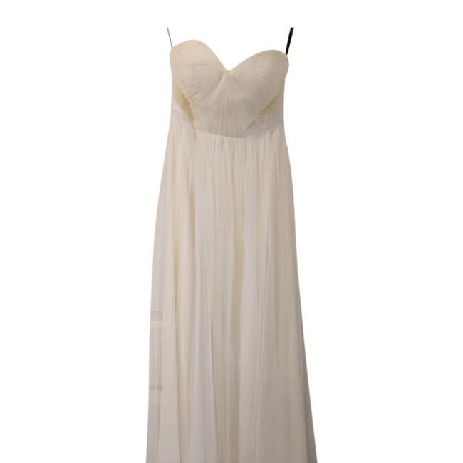 Jenny Yoo Ivory Anabelle Convertible Tulle Gown Long Formal Dress Size 8 (M) Jenny Yoo Ivory Anabelle Convertible Tulle Gown Long Formal Dress Size 8 (M) Image 4