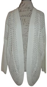 Charlotte Russe Loose Knit Cable Knit Shrug Cardigan Sweater