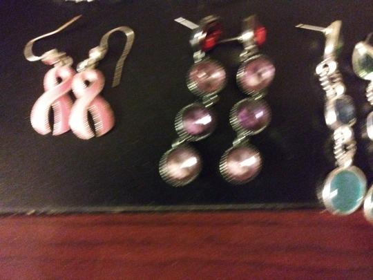 Claire's 11 Pairs Pierced Earrings--NO backs!! Image 1