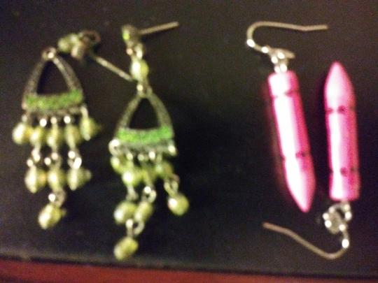 Claire's 11 Pairs Pierced Earrings--NO backs!! Image 2