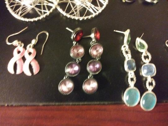 Claire's 11 Pairs Pierced Earrings--NO backs!! Image 3