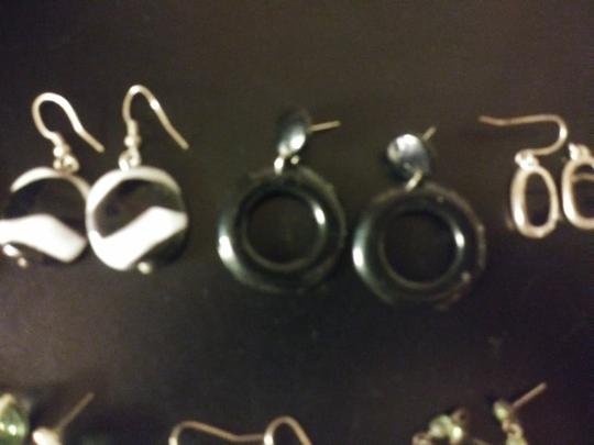 Claire's 11 Pairs Pierced Earrings--NO backs!! Image 5