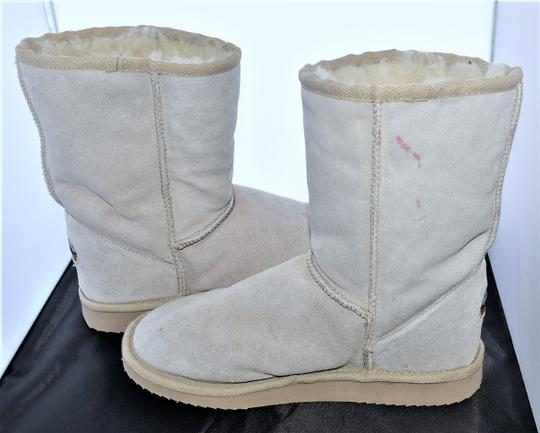 EMU Ugg Style Gray Suede SAND Boots Image 2