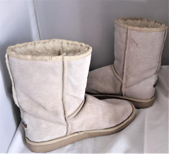 EMU Ugg Style Gray Suede SAND Boots Image 3