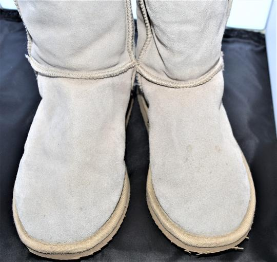 EMU Ugg Style Gray Suede SAND Boots Image 4