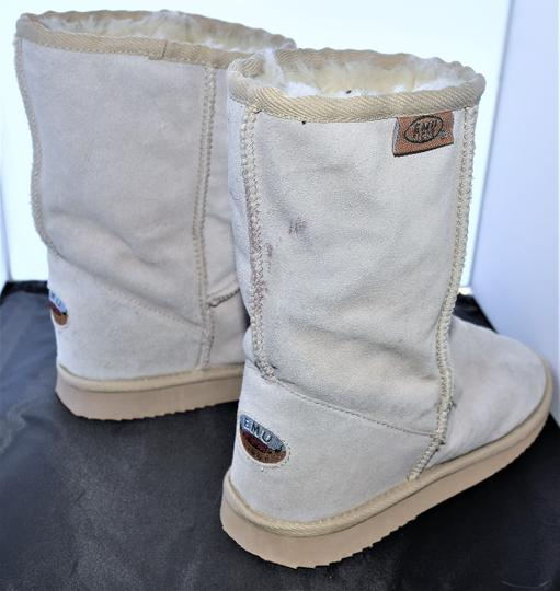 EMU Ugg Style Gray Suede SAND Boots Image 6