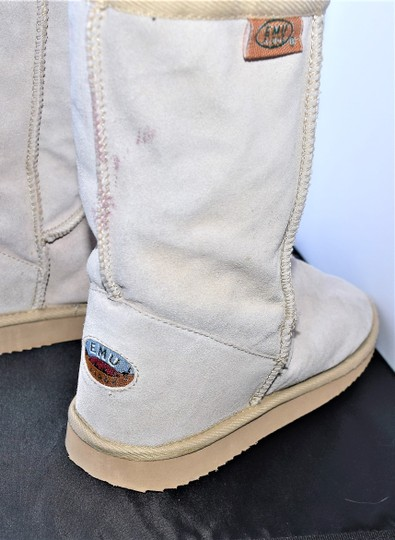 EMU Ugg Style Gray Suede SAND Boots Image 7