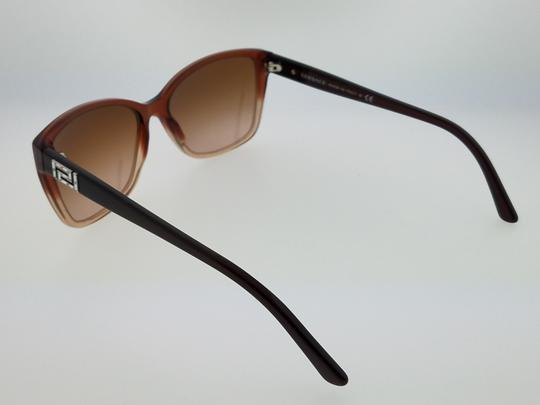 Versace VE4268B-509113 Full Rim Women's Brown Frame Brown Lens Sunglasses