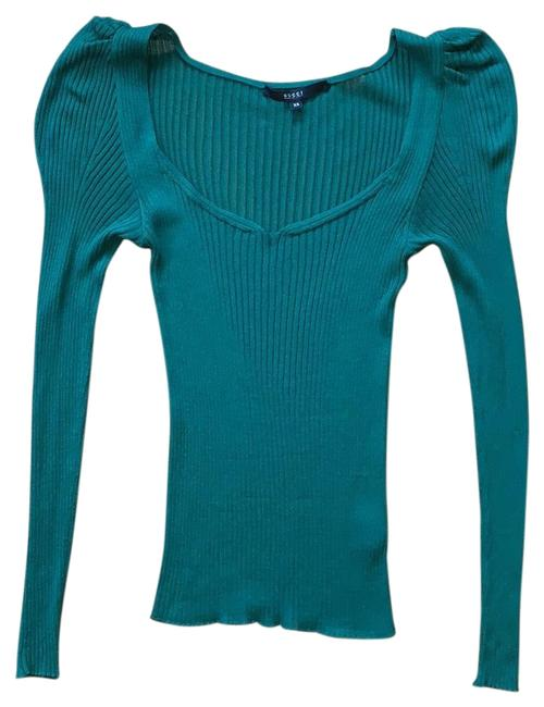Preload https://img-static.tradesy.com/item/24597523/gucci-stretchy-ruched-sleeve-emerald-green-sweater-0-1-650-650.jpg