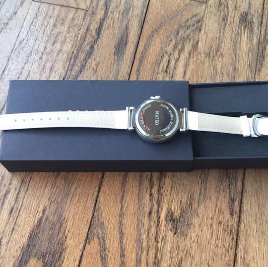 Mateo Mateo Two Tone Faux Leather Watch