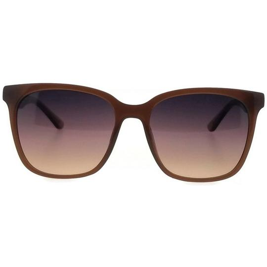 Lacoste L861S-210-55 Square Women's Brown Frame Red Lens Genuine Sunglasses