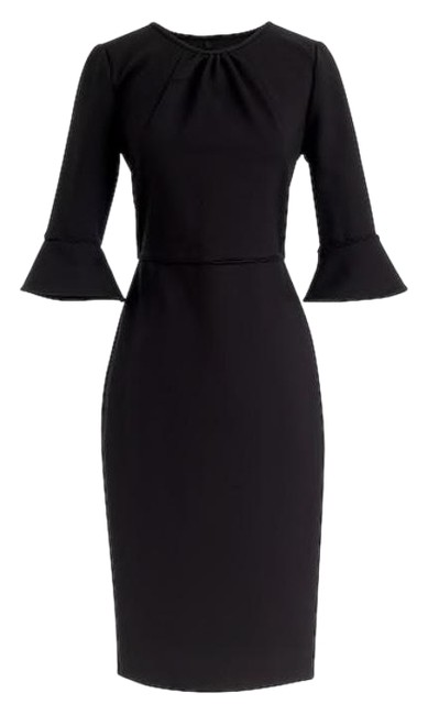 Preload https://img-static.tradesy.com/item/24597729/jcrew-black-bell-sleeve-sheath-in-stretch-ponte-mid-length-workoffice-dress-size-12-l-0-1-650-650.jpg