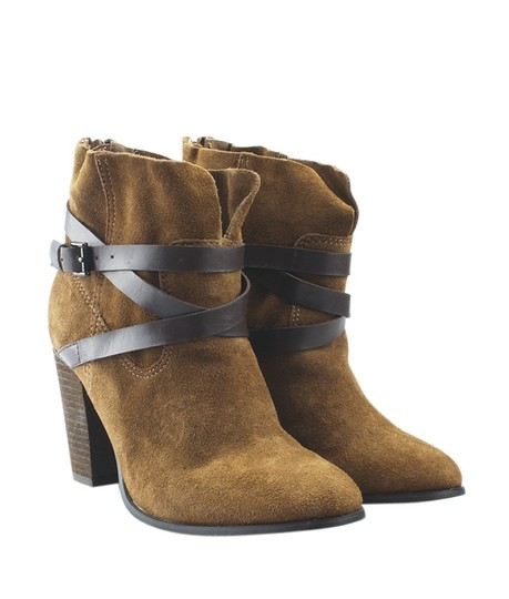 Carlos by Carlos Santana Ankle Suede Box China Brown Boots