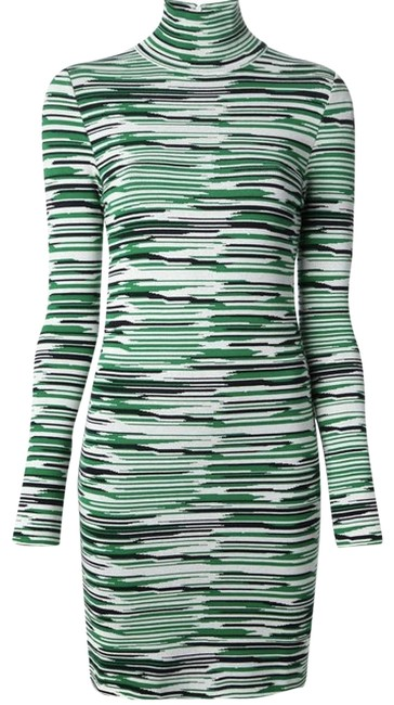 Preload https://img-static.tradesy.com/item/24597828/stella-mccartney-green-pristine-turtle-sweater-short-casual-dress-size-4-s-0-6-650-650.jpg
