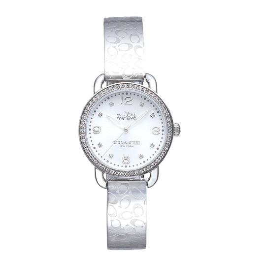 Preload https://img-static.tradesy.com/item/24597852/coach-silver-stainless-signature-bangle-delancey-14502353-swiss-watch-0-1-540-540.jpg