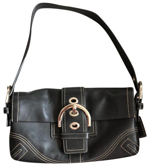 Preload https://img-static.tradesy.com/item/24597905/coach-with-white-stitching-and-silver-metal-features-black-leather-satchel-0-1-540-540.jpg