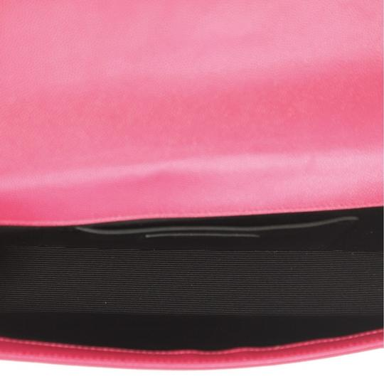 Saint Laurent Leather pink Clutch