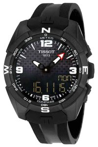 Tissot T-Touch Expert Solar Digital Analog Dial Men's Silicone Watch
