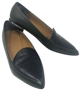 Everlane black and green Flats