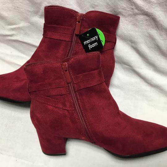 East 5th Essentials Red Boots
