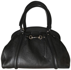 Dior Leather A Dust-bag Certificate Satchel in Black