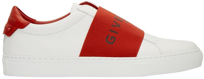 Item - Red White and Strap Urban Knots Sneakers Size EU 36.5 (Approx. US 6.5) Regular (M, B)