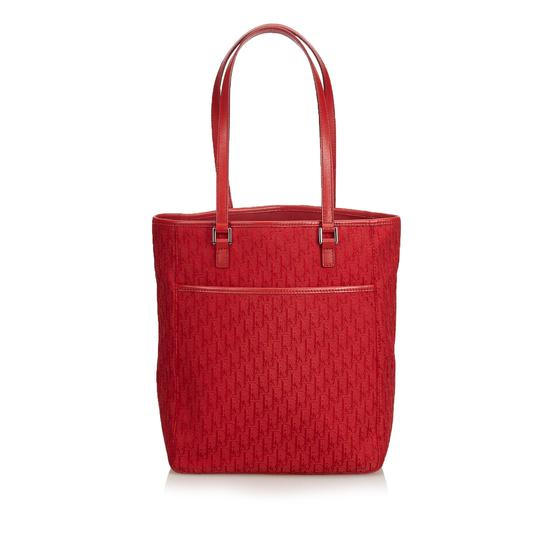 Preload https://img-static.tradesy.com/item/24598007/dior-oblique-jacquard-red-blend-tote-0-0-540-540.jpg