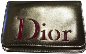 Dior Silver and pink Clutch
