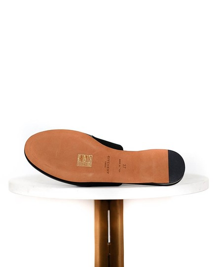 Givenchy Leather Black Mules