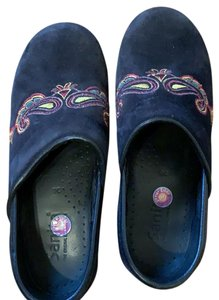 Sanita navy Mules