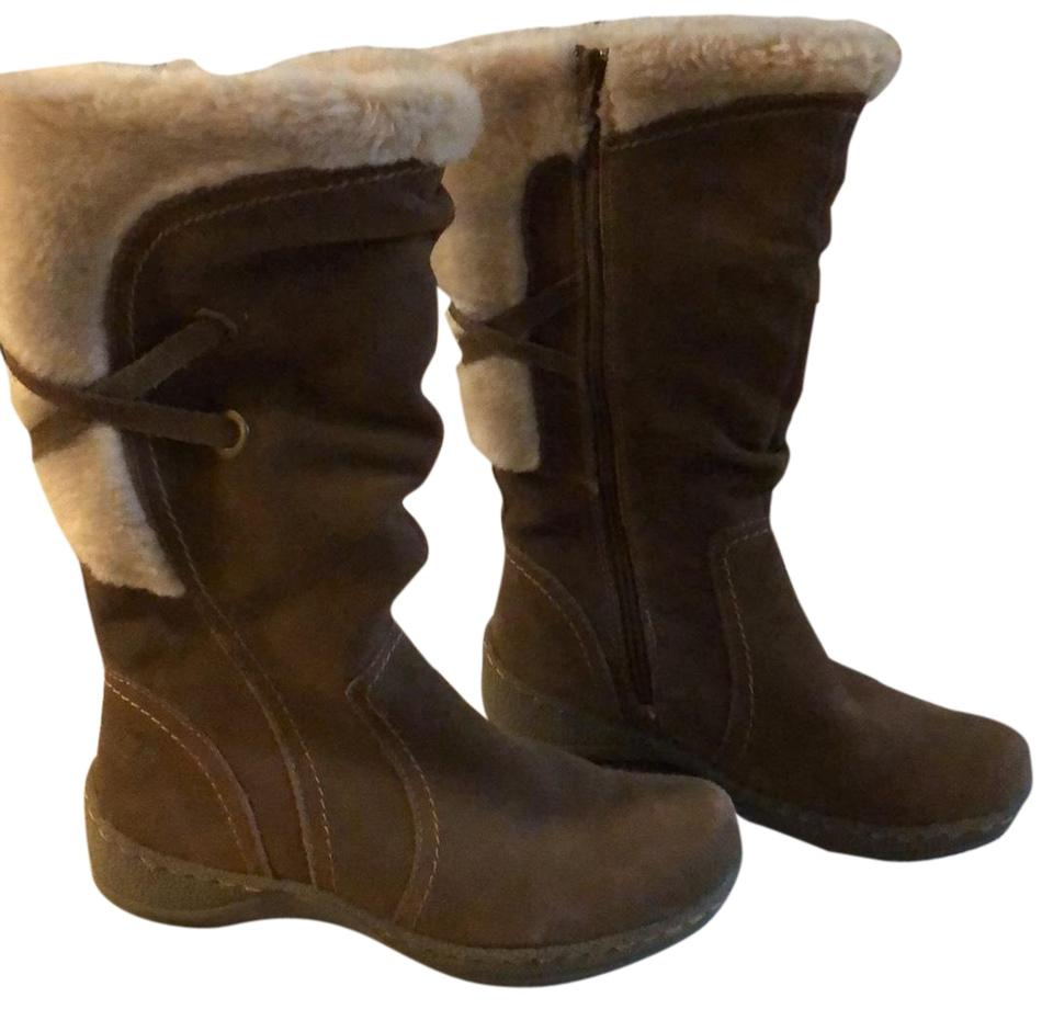 42ae80eb3ce69 Bare Traps Taupe Brown Excellent Suede Boots/Booties Size US 8.5 ...
