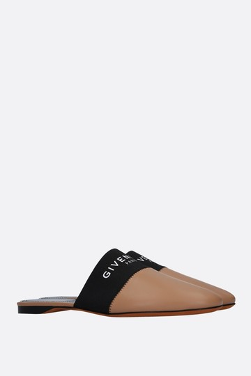 Givenchy Leather Nude Mules