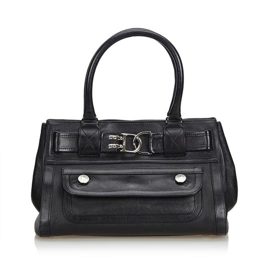 Preload https://img-static.tradesy.com/item/24598118/dior-handbag-black-leather-x-others-baguette-0-0-540-540.jpg