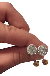 Phillips House Phillips House - Pave Diamond & 14K Yellow Gold Infinity Stud Earrings