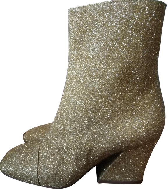 Item - Golden Made In Italy Glitter Boots/Booties Size EU 36 (Approx. US 6) Regular (M, B)