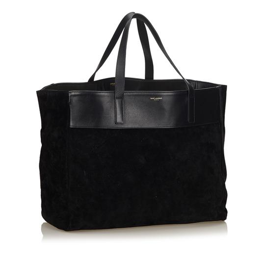 Saint Laurent 8dysto001 Tote in Black Image 1