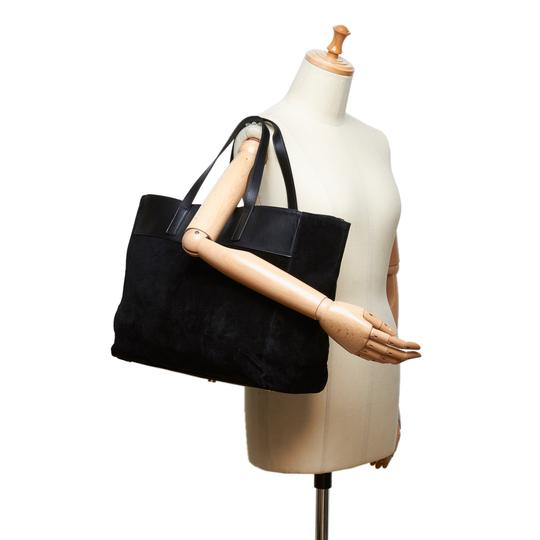 Saint Laurent 8dysto001 Tote in Black Image 8