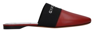 Givenchy Leather Red Mules
