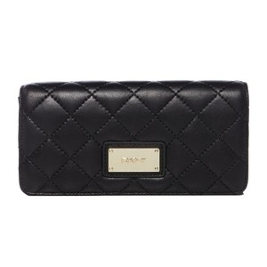 DKNY DKNY Quilted Leather Flap Clutch Wallet