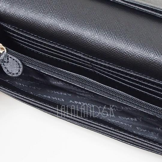 DKNY DKNY Quilted Leather Flap Clutch Wallet Image 2