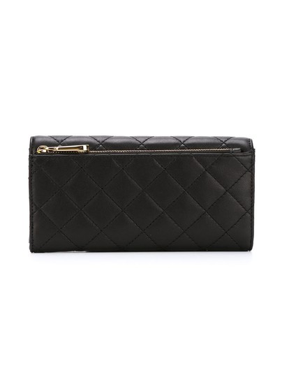 DKNY DKNY Quilted Leather Flap Clutch Wallet Image 3