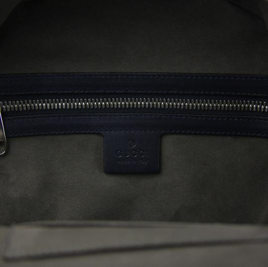Gucci Beige/Blue Gg Coated Canvas 427042 8493 Backpack Image 9