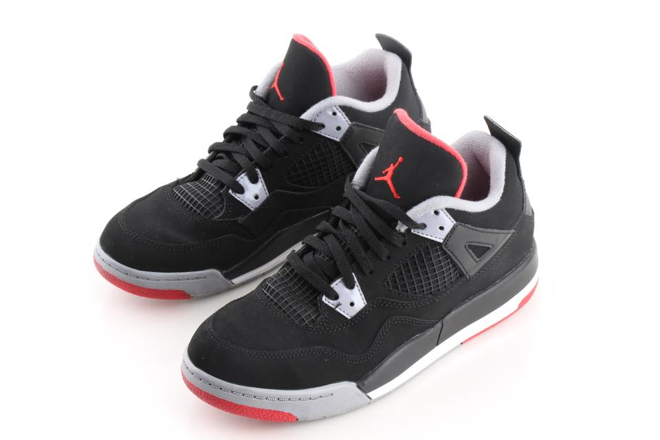 ae26269511a3 Air Jordan Multicolor Breds Retro 4 s Sneakers Size US 4 Regular (M ...
