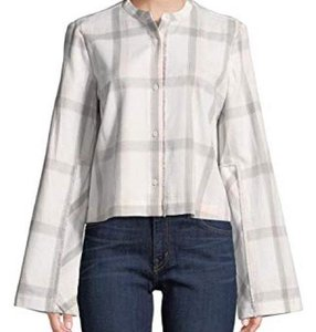 Derek Lam Button Down Shirt white