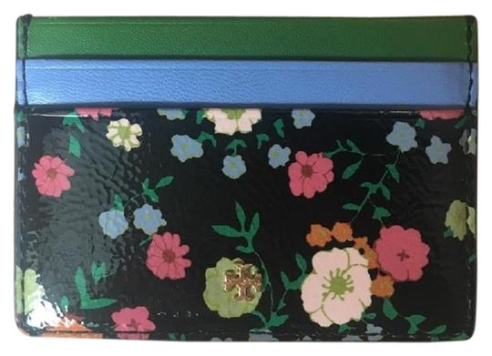Preload https://img-static.tradesy.com/item/24598704/tory-burch-floral-vilette-stripe-card-case-wallet-0-1-540-540.jpg