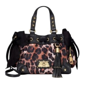 Juicy Couture Leopard Shoulder Bag