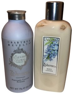 Crabtree & Evelyn Crabtree & Evelyn wisteria talcum powder & lotion