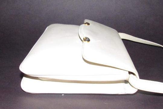 Gucci Early Style Two-way Style Clutch/Shoulder Mint Condition Ivory/White Shoulder Bag Image 6